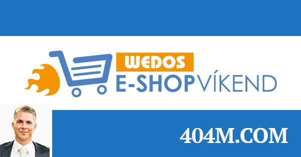E-shop víkend