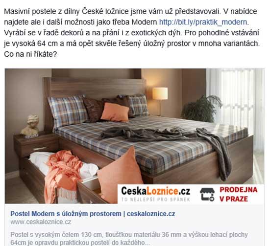 Kampaň České postele