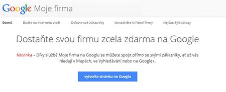 Google moje firma