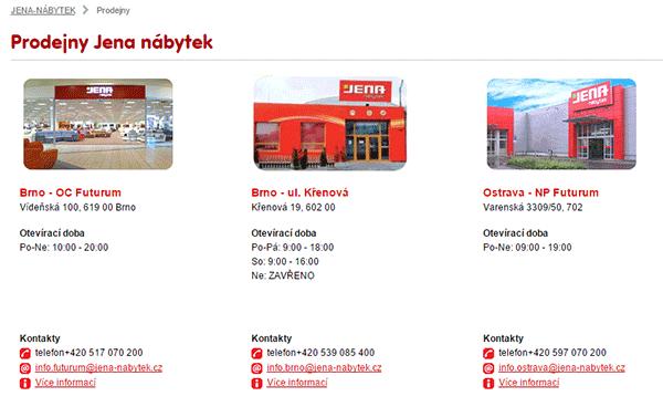 Prodejny Jena