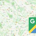 Google mapy krok za krokem