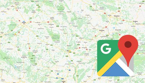 Nastavení Google Map