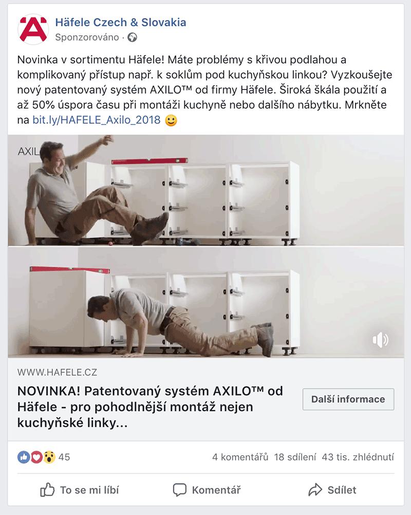 Kampaň AXILO